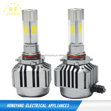 IP67 angel eyes motorcycle headlights true focused light universal cars top quality cob 36w