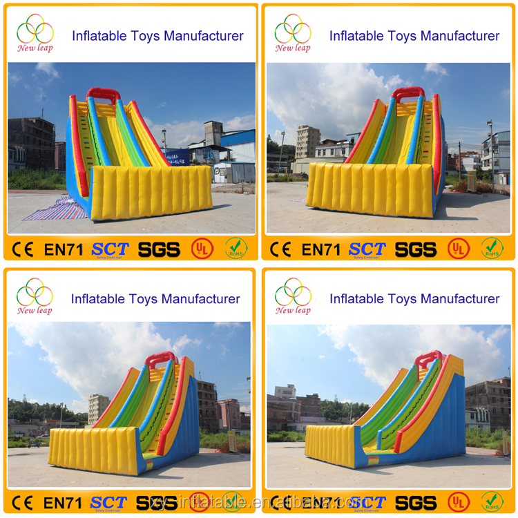 Cheap Price Safety Facilities toys inflatable bouncer slide
