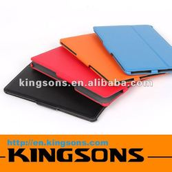 Hot! colorful leather custom tablet case 2012 newest design for laptop accessories
