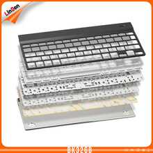 7 Colors Backlit Wireless Bluetooth keyboard for iPad for Samsung Aluminum BT keyboards
