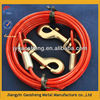 7X7 15FT red dog tie out cable for animal
