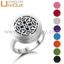Manufacturer direct sale perfume diffuser stainless steel o ring aroma ring jewelry