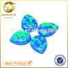 factory direct sell machine cut flat bottom pear cut synthetic opal