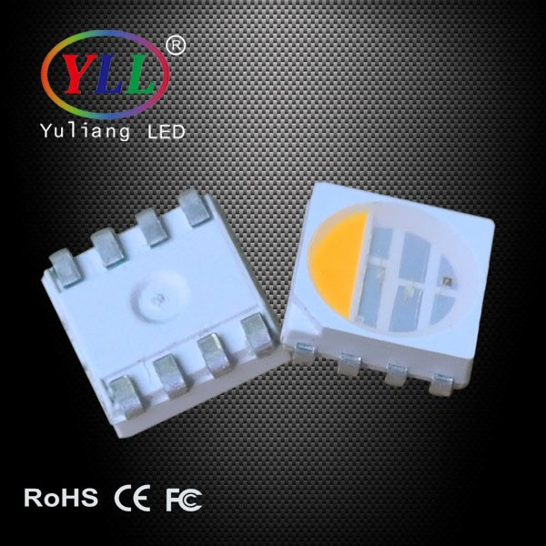 Lowest price and Green Life Lighting RGB+White 0.3W SMD 5050 RGBW LED Diode