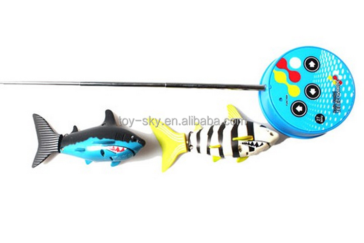 2014 new r c toys remote control fish toy electric robot for Robot fish toy