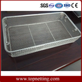 Stainless steel Medical Storage Wire Mesh Basket
