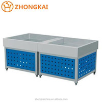 Supermarket Commercial Refrigeration Equipment Seafood Display