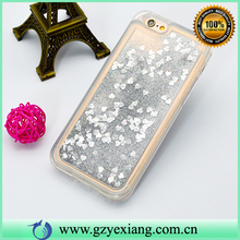 Mobile Phone Colorful Liquid Stars Flowing Glitter Phone Case For LG G3 TPU Cover