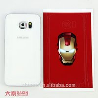 beijing daqin custom designed cell phone skins machine and software for samsung S7