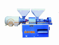 corn/maize peel&mill machinery