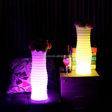 LED Illuminated Flower Pot Lighting Spiral Vase LED Lights for Vases