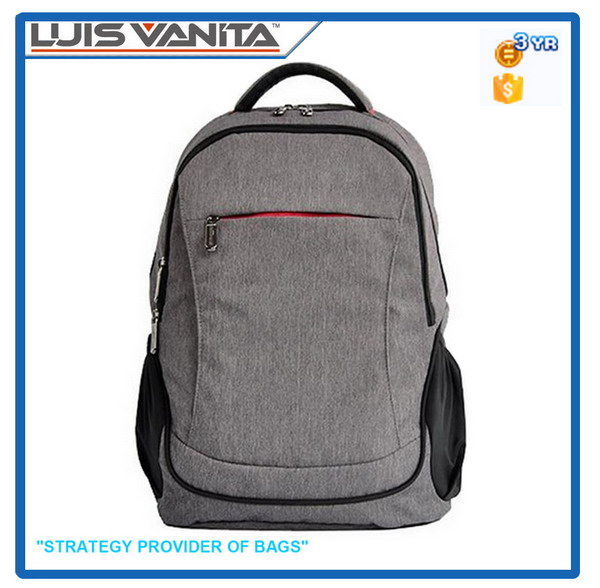 Hot Selling Promotional Gray Backpack Diaper Bag
