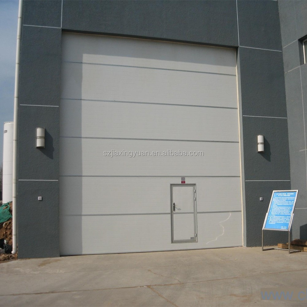 Sectional Doors Product : Safely automatic sectional industry garage door