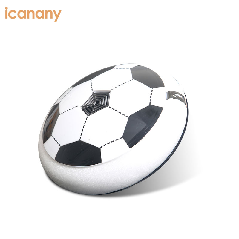 Kids Air Power Ultra Glow Hockey Football Soccer Ball Disc Toys for Boys Girls Sports