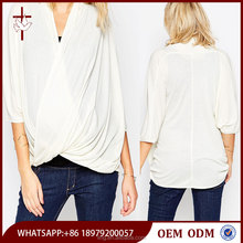 Top Selling Products New Design Maternity Top With Twist Front