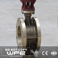 Double Flanged Concentric High Quality Triple Butterfly Valve