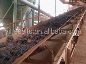 Heavy load transportation steel cord rubber conveyor belt with the best price