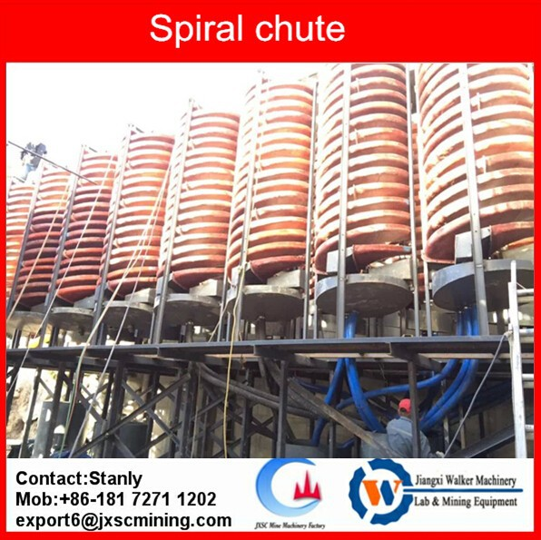 China spiral chute factory for gravity spiral chute manufacturing