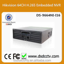 DS-9664NI-I16 Hikvision 64CH Embedded NVR Support 16HDDs Network Video Recorder