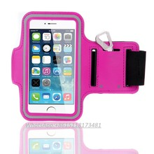 Wholesale outdoor fitness sports armband case, neoprene sport smartphone armband
