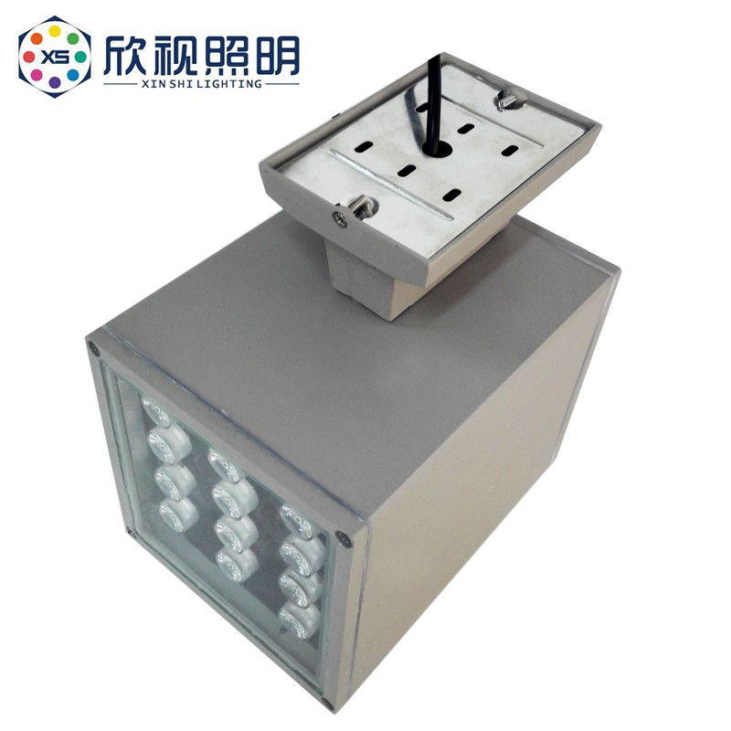 IP65 outdoor up waterproof modern aluminum alloy lamp body material led wall pack light