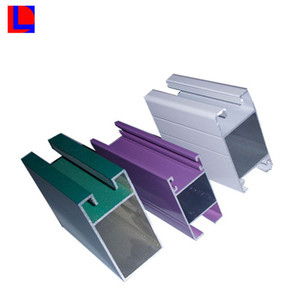 green anodized 6000 series aluminum extrusion profiles for machinery
