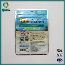 Professional OEM/ODM Factory Supply Top Quality eco-friendly aluminum foil packaging bag plastic pouc with zipper