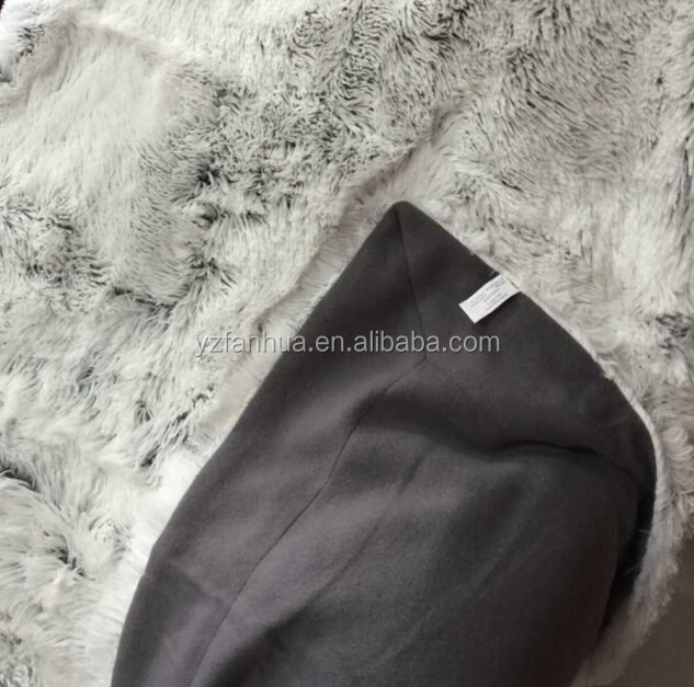 faux fur throw mink royal fluffy blanket genuine fur blanket