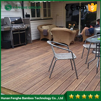 Dark Carbonized Bamboo Decking Outdoor Bamboo Flooring
