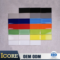 Alibaba Shop Japanese Bright Color Ceramic Tile Wall Panels