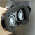 hot selling 38mm VR lens and google cardboard, VR glasses for box