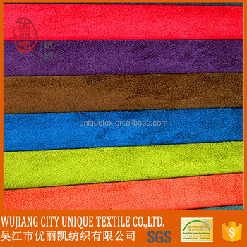 200gsm 105d*16s 40%polyester 60%cotton cotton suede fabric