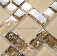 Cheap Decoration Building Materials Glass Mosaic Internal Wall Tiles
