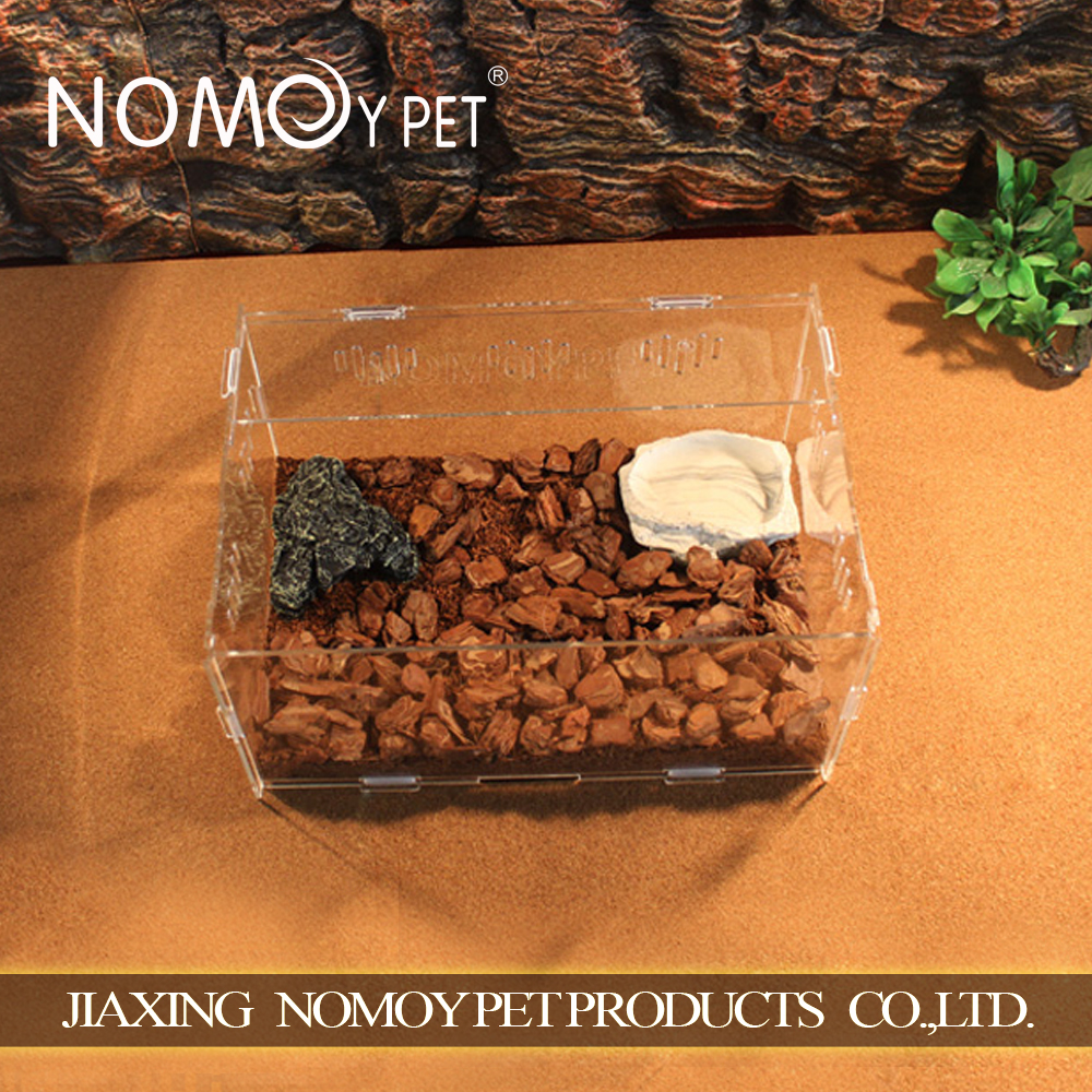 Nomo clear hot sale acrylic pet squirrel cages wholesale