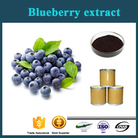 Wholesale China wild Blueberry extract Pterostilbene 98% anti-cancer
