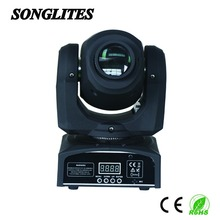 45 Degree Max Working Temperature Spot Beam Light LED Moving Head Theater Lighting