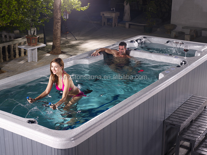 KGT usa acrylic spa outdoor exercise swim spa JCS-SS1
