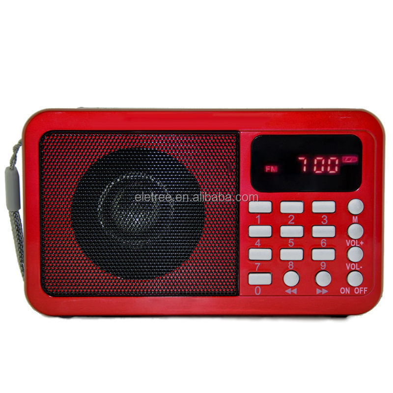 Yes Screen mini fm radio with TF card EL-030