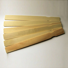 birch wood paint paddle with FSC certificated