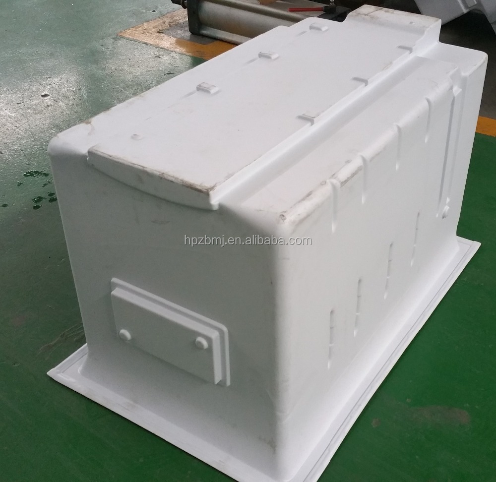 Customized refrigerators mould Home appliance Vacuum formed inner container of refrigerator plastic products mould
