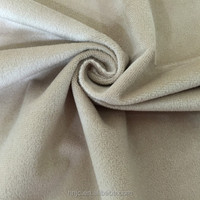 Warp knitting polyester 1.0mm pile high plush velboa fabric