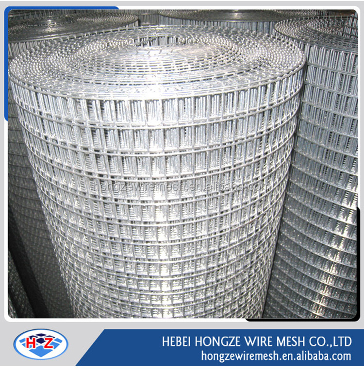 hot dipped/electric galvanized/pvc coated welded wire mesh fence netting(ISO9001 Manufacturer)