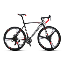 Eurobike xc550 road racing <strong>bike</strong> 700c cheap road bicycle 27 speeds double disc brake 60 rim road <strong>bike</strong>