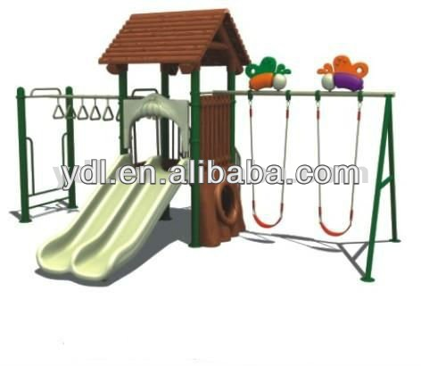 Combination of the swing and slide