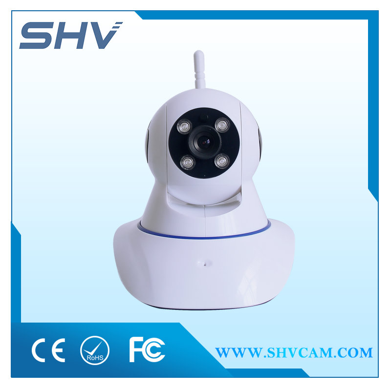 720P wireless digital alarm ptz ip camera