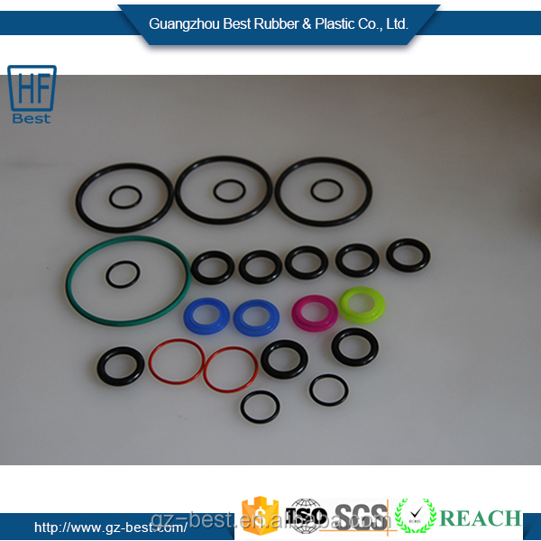 Round Rubber Seal Flat O-Ring Joint NBR Viton Silicone