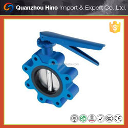 DN 150 wafer type gear operated butterfly valve