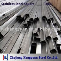 Welded Seamless Stainless Steel Square Pipe