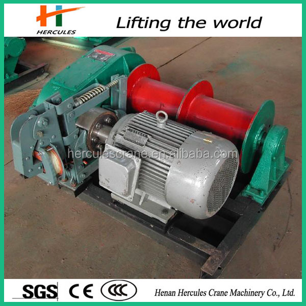 Electric hydraulic anchor capstan