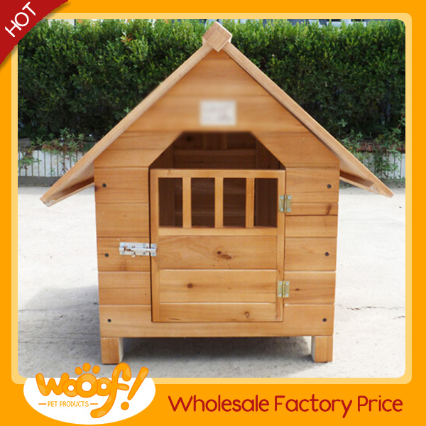 Hot selling pet dog products high quality bamboo dog house